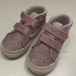 VANS Glitter Ice Cream Cats High Top Sneakers
